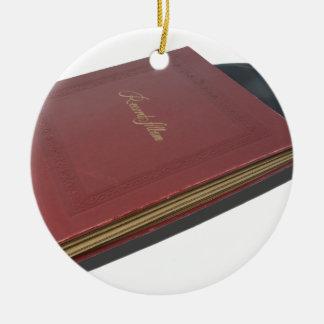 RecordAlbum061615.png Ceramic Ornament