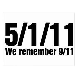 Recordamos 9/11 postal