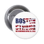 Recordamos Boston Pin Redondo De 2 Pulgadas