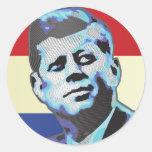 Recordar a John F. Kennedy Etiqueta