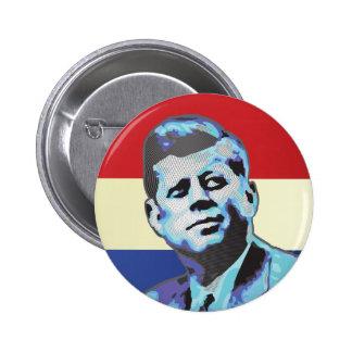 Recordar a John F. Kennedy Pin Redondo De 2 Pulgadas