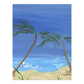 """Recordar arte soleado del paisaje de las épocas folleto 8.5"""" x 11"""""""