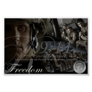 Recordar el poster del 11 de septiembre