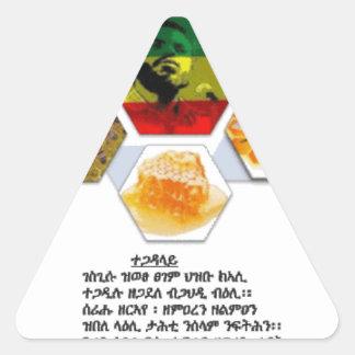 Recordar Meles Pegatina Triangular