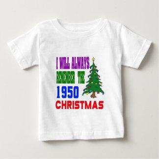 Recordaré siempre el 1950 navidad tshirts