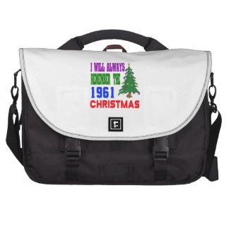 Recordaré siempre el 1961 navidad bolsas para portátil
