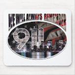 Recordaremos siempre 9/11 alfombrilla de raton