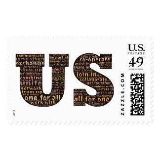 Recordarnos nuestra parte en los E.E.U.U. Sello Postal
