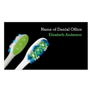Recordatorio dental de la cita del dentista tarjetas de visita