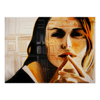 Recordatorio la pintura del autor del silencio poster