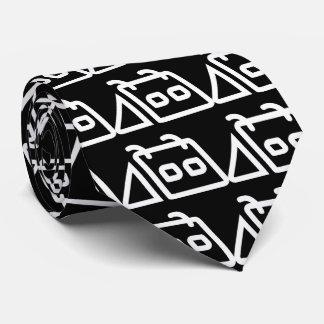 Recordatorios diarios mínimos corbata personalizada