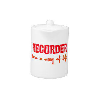 Recorder It's a way of life