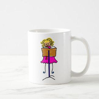 Recorder Kid Classic White Coffee Mug