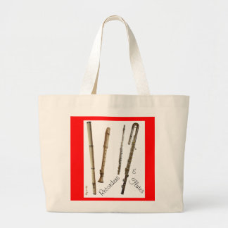 Recorders & Flutes - Tote Bag (Customise)