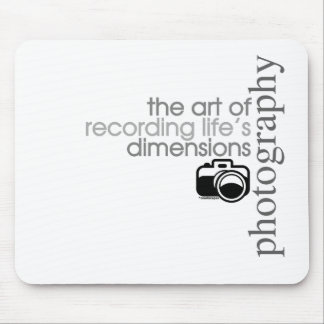 Recording Life's Dimensions Mouse Pad