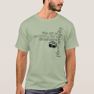 Recording Life's Dimensions T-Shirt