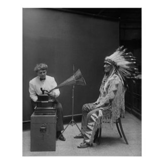 Recording Mountain Chief Poster