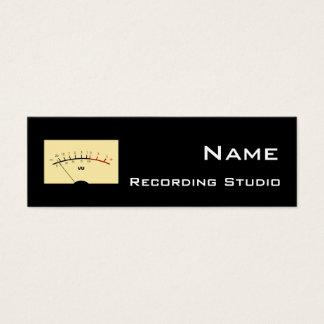 Recording Studio Business Card