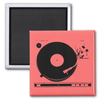 recordplayer refrigerator magnet