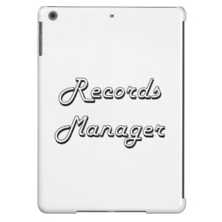 Records Manager Classic Job Design Case For iPad Air