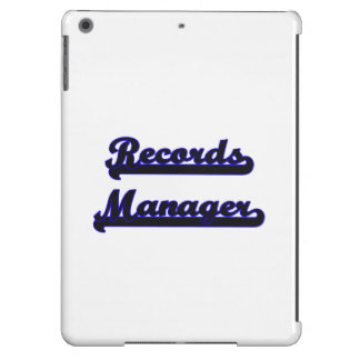 Records Manager Classic Job Design iPad Air Covers