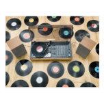 Records on Floor 2 Postcard