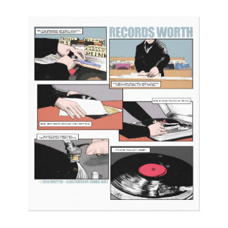 Records Worth Canvas Print