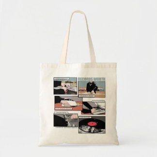 Records Worth Tote Bag