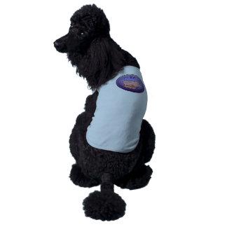 Recortadora de chapas guarra del logro de la playera sin mangas para perro
