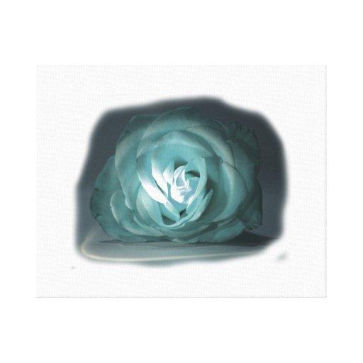 Recorte color de rosa azul claro de Spolighted Impresión En Lona