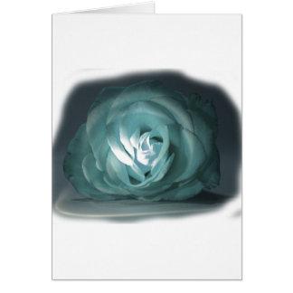 Recorte color de rosa azul claro de Spolighted Tarjeta Pequeña
