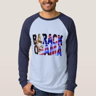 Recorte de Barack Obama Playera
