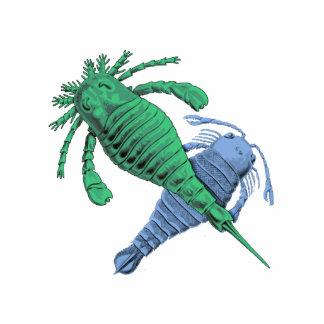 Recorte de los escorpiones de mar imán fotoescultura