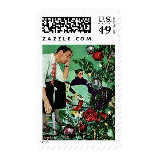 Recorte del árbol sellos