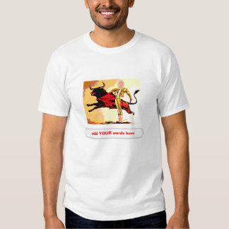 Recorte del carnaval del torero playera