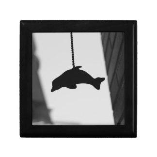 Recorte del delfín cajas de recuerdo