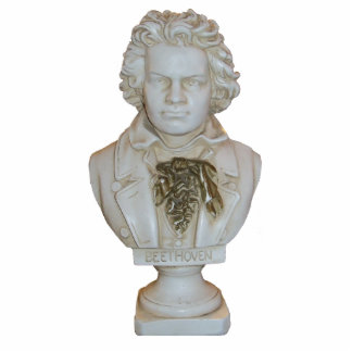 Recorte derecho del busto de Beethoven Esculturas Fotograficas