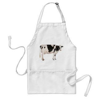 Recorte holandés de la vaca delantal