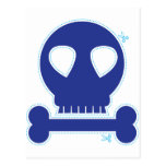 ¡RECORTE! muchacho azul del cráneo