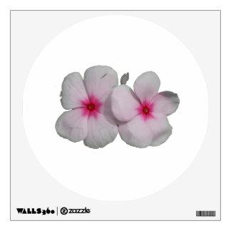 Recorte rosado de la flor del molinillo de viento vinilo