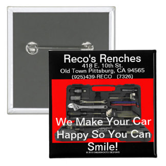 Reco's Renches Makes Car Happy So You Can Smile! Button