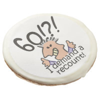 Recount 60th Birthday Sugar Cookie
