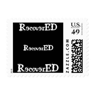 Recovered Recovery aa Postage