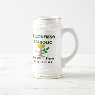 Recovering Catholic Beer Stein