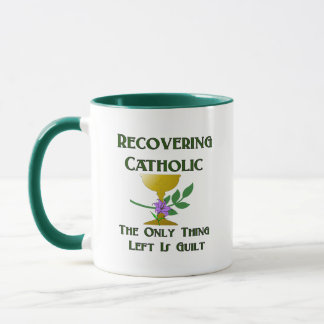 Recovering Catholic Mug