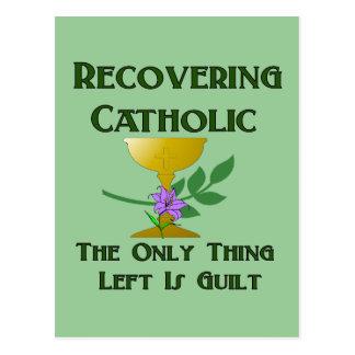 Recovering Catholic Postcard