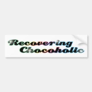 Recovering Chocoholic Bumper Sticker