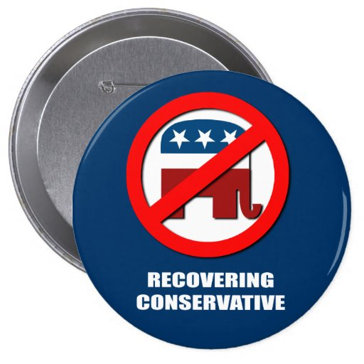 recovering conservative button