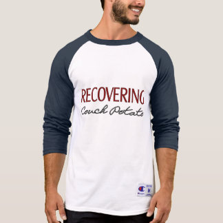 Recovering Couch Potato - Funny Fitness T Shirts