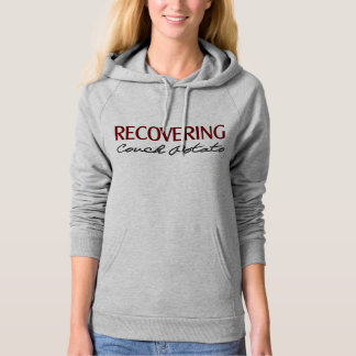 Recovering Couch Potato - Funny Gym Hoodie